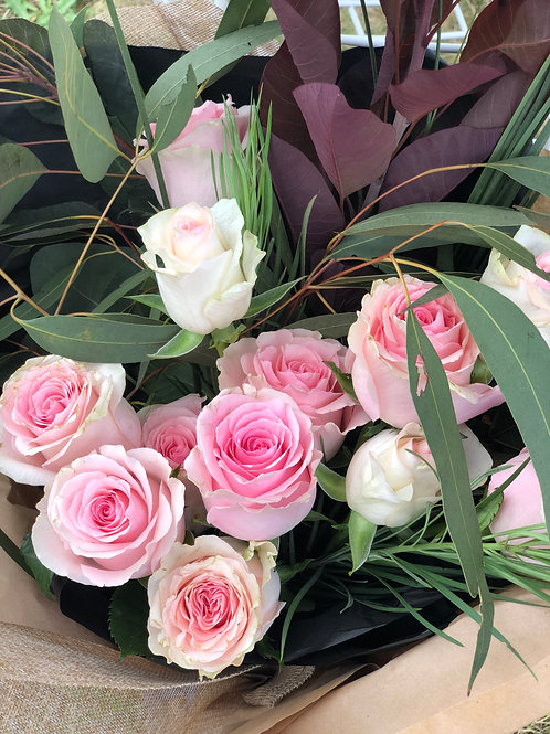 Roses by the Dozen - Pink