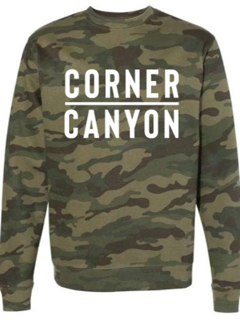 Adult Crew Neck Camo Sweatshirt