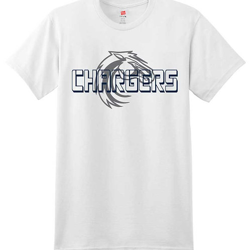 Chargers Unisex Ringspun Cotton Tee