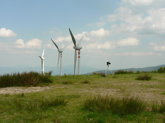 Impianto eolico di Secchieta (FI-AR)