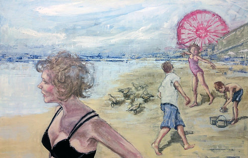 "Midsummer Day, 24x36"""
