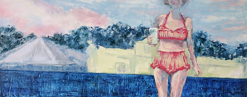 """Own Sweet Time, 14x34"""""""