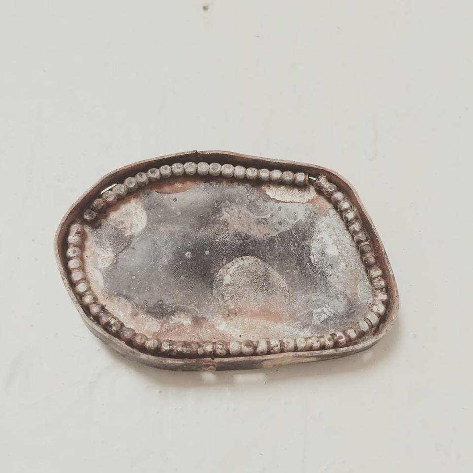brooche silver lining