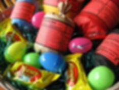 Pyro Easter Basket full of fireworks