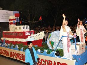 DESTACADA PARTICIPACIÓN DE LA COMUNIDAD JAPONESA DE ESCOBAR EN LA FIESTA NACIONAL DE LA FLOR 2019