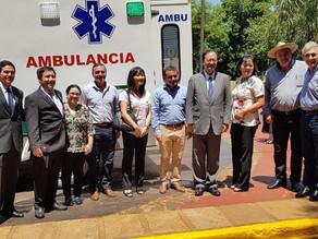 EMBAJADOR DEL JAPÓN EN ARGENTINA PARTICIPÓ EN DONACIONES EN LA PROVINCIA DE MISIONES
