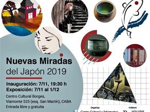 EXPOSICIÓN NUEVAS MIRADAS DEL JAPÓN 2019