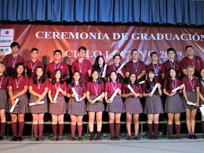 NICHIA GAKUIN: CEREMONIA DE GRADUACIÓN CICLO LECTIVO 2019
