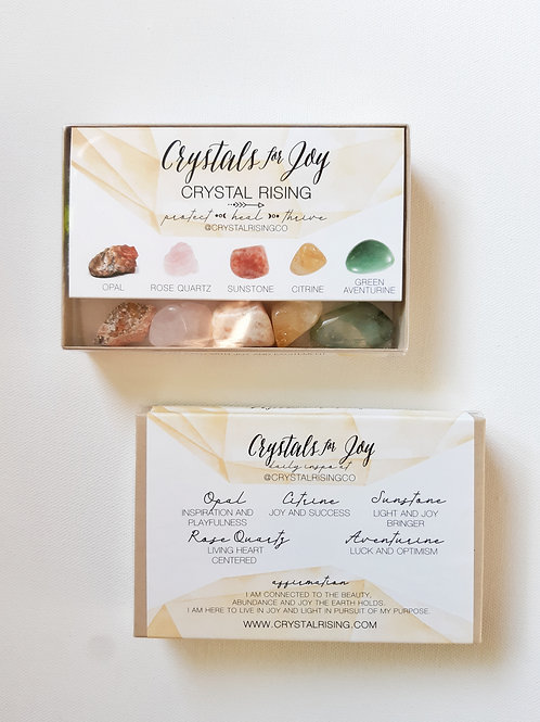 Crystals for Joy Box Set