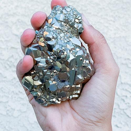Large Peruvian Pyrite Cluster