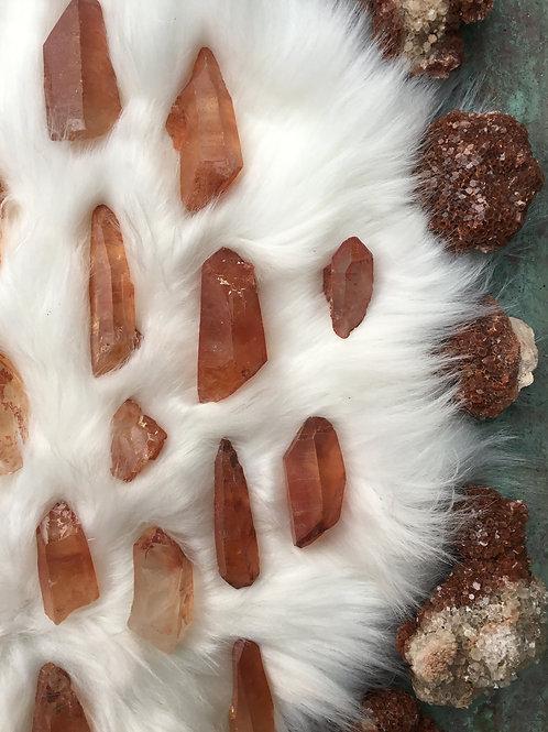 tangerine quartz points