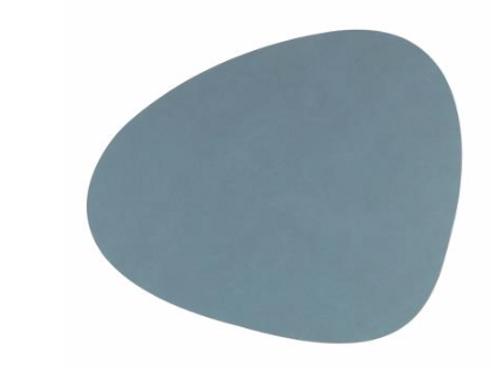 Curve NUPO Table Mat Large ~ Light Blue 37x44