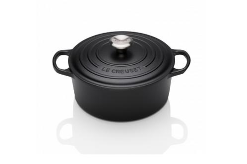 Satin Black 24cm Casserole / 4.2L