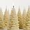 Thumbnail: Small Christmas Tree Candle ~ Set of 2