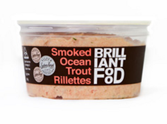 Brilliant Food ~ Smoked Ocean Trout Rillettes