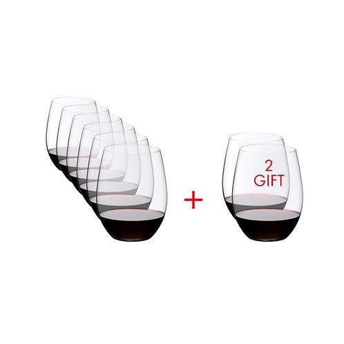 O Wine Tumbler Cabernet/Merlot ~ PAY 6 GET 8