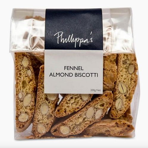 Phillippa's Fennel & Almond Biscotti