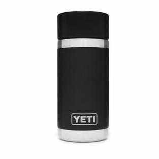 12oz Bottle with Hot Shot Cap - Black