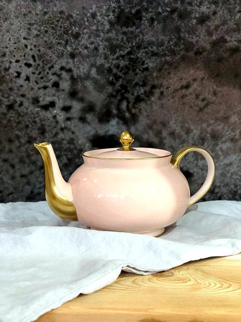 Limoges Rose Petal 12 cup Teapot