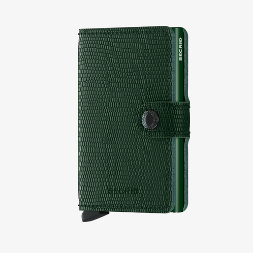 Mini Wallet ~ Rango Green