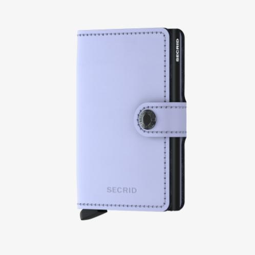 Mini Wallet ~ Matte Lilac