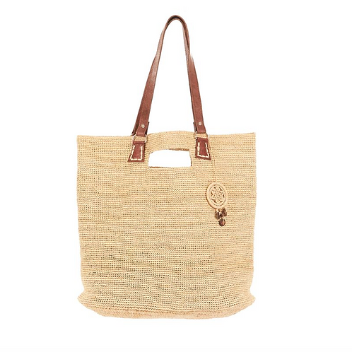 Soa Raffia Bag ~ Natural