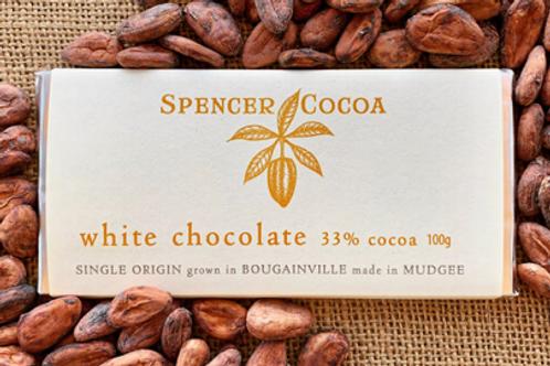 Spencer Cocoa ~ White Chocolate Bar