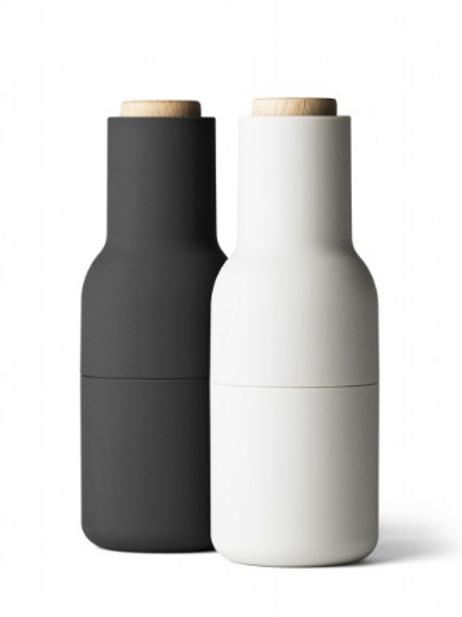 Menu Bottle Grinders Ash + Carbon