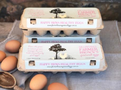 Farmer Browns Eggs ~ Dozen