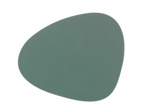 Curve NUPO Table Mat Large ~ Pastel Green 37x44