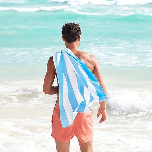 Cabana Beach Towel Large ~ Tulum Blue