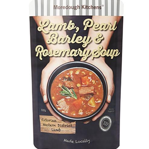 Lamb, Pearl Barley & Rosemary Soup