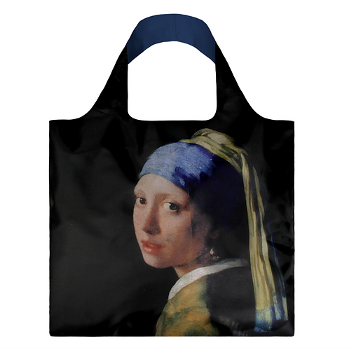 Girl With a Pearl Earring Shopping Bag
