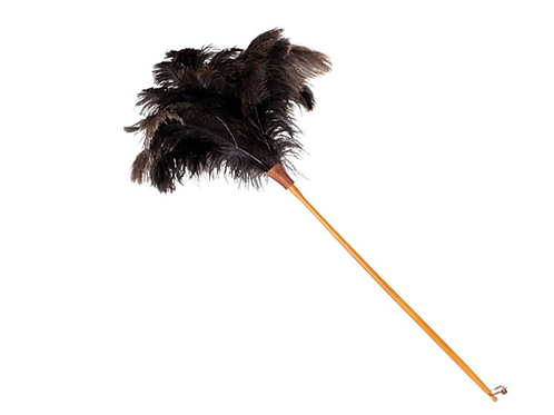 Brown Ostrich Feather Duster 110cm