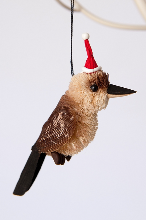 Bristlebrush Kookaburra Hanging Ornament