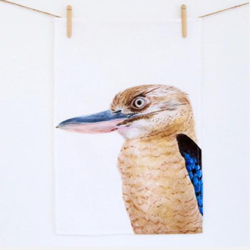 Kenny The Kookaburra Tea Towel