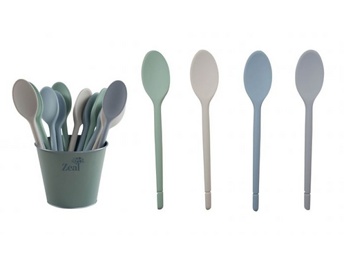 Zeal Silicone Cook's Spoon ~ Assorted Colours