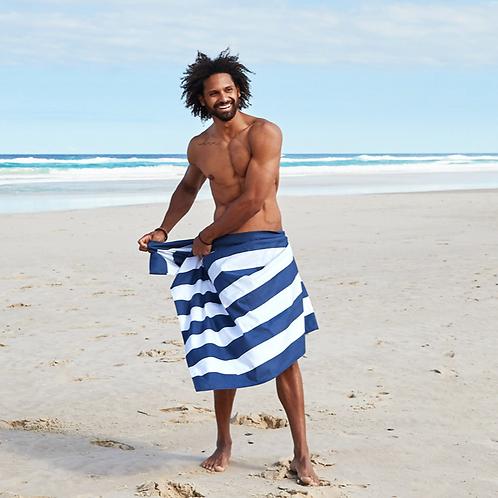 Cabana Beach Towel XL ~ Navy