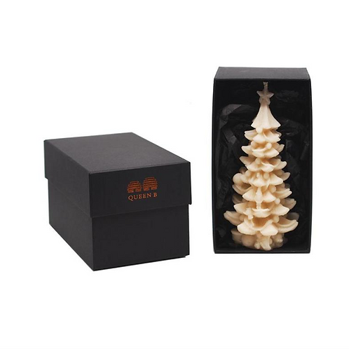 Large Christmas Tree Candle