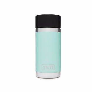 12oz Bottle with Hot Shot Cap - Seafoam