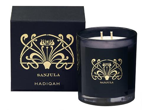 Sanjula XL Soy Wax Candle ~ Hadiqah Scent