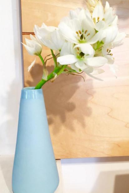 Tear Vase Blue