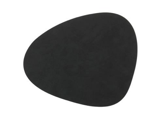 Curve NUPO Table Mat Large ~ Black 37x44