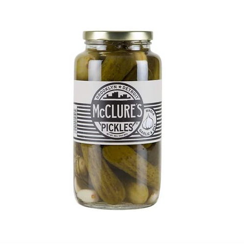 McClure's Pickles ~ Garlic & Dill Whole