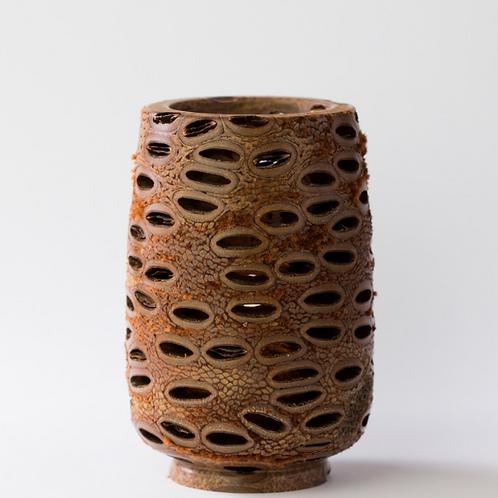 Banksia Votive Tea Light Holder ~ Large