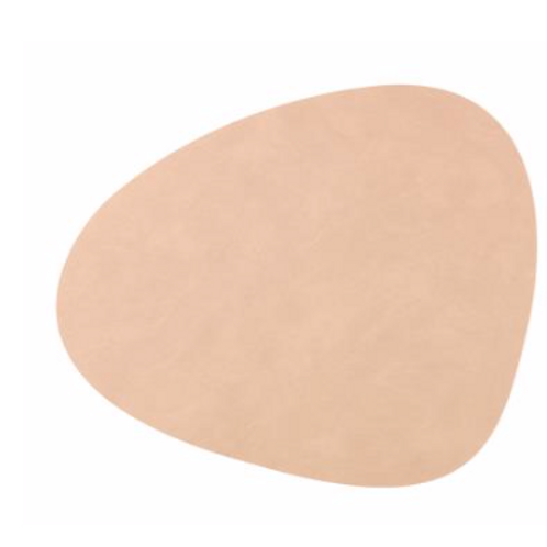 Curve NUPO Table Mat Small ~ Sand 24x28