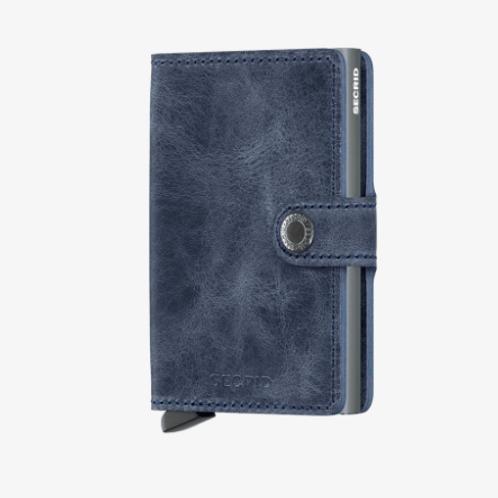 Mini Wallet ~ Vintage Blue