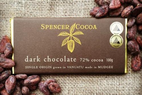Spencer Cocoa ~ Dark Chocolate Bar