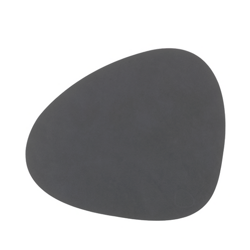 Curve NUPO Table Mat Small ~ Anthracite 24x28
