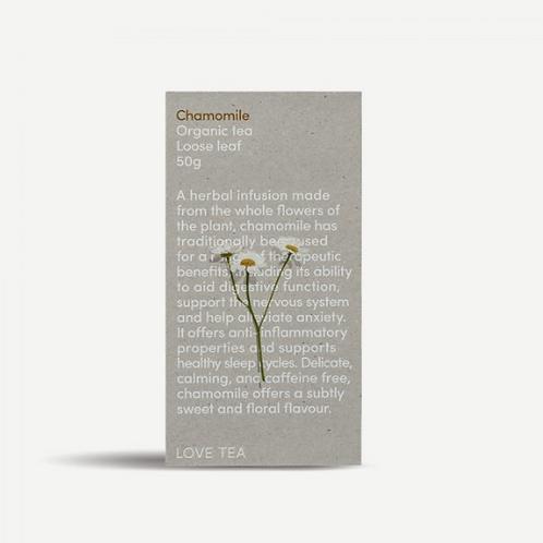 Love Tea ~ Chamomile Loose Leaf Tea